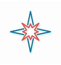 star logo or icon vector image