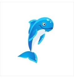 Pilot Whale Icon vector image vector image
