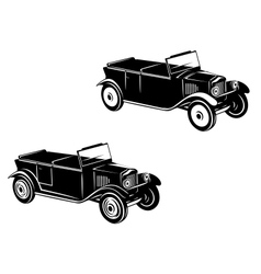 Retro car of 1920-1930 year vector image vector image