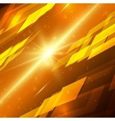 Abstract technology background with bright flare vector