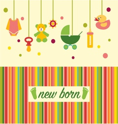 Baby shower design 38 vector