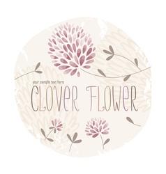 Clover circle vector