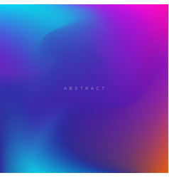 Colorful abstract background with gradient vector