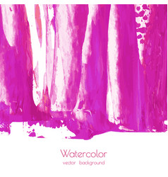 fuchsia purple lilac grunge marble watercolor vector image