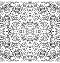 Full frame kaleidoscope background patterns vector