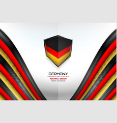Germany color background vector