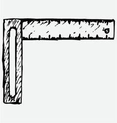 Setsquare symbol vector