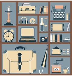 style flat vector image