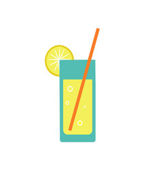 Summer lemonade vector