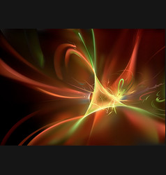 abstract background with light waves vector image vector image