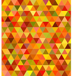 Abstract triangle mosaic background design vector image vector image