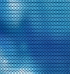 blue triangle vector image vector image
