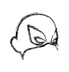 mask for face character super hero in the style of vector image