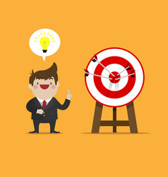 success idea of business vector image vector image