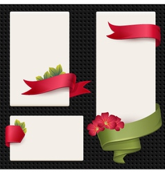 Set of elements for advertising vector image