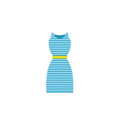 dress icon vector image