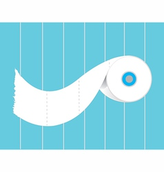 toilet paper roll vector image vector image