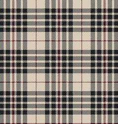 Blackberry tartan seamless pattern vector image