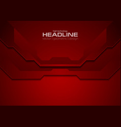 dark red abstract corporate technology background vector image
