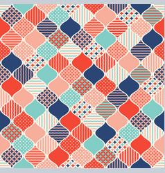 Geometric abstract modern seamless pattern vector