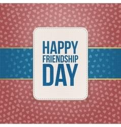 Happy Friendship Day Sale special Badge vector