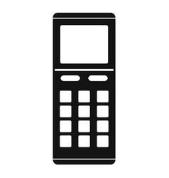 Remote control air conditioner icon simple style vector