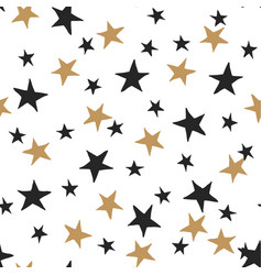 Starry background vector