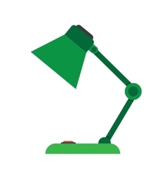table-lamp desk lamp vector image