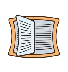 Drawing book read learning school vector