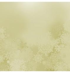 elegant snowflakes background vector image vector image