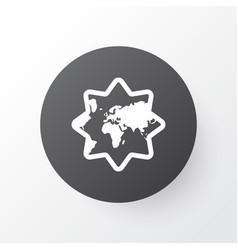islamic icon symbol premium quality isolated vector image