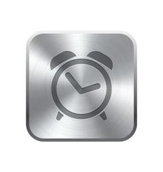 Alarm Clock icon button vector image vector image