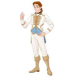 Prince Charming vector image