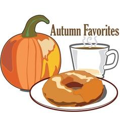 Autumn Favorites vector