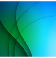 Blue elegant business background vector