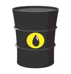 Cartoon barrel of oil vector