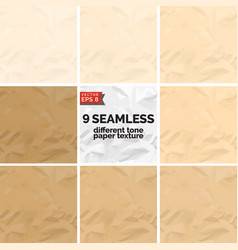different tone paper texture vector image