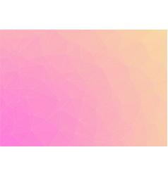 flat duocolor triangle gradien vector image