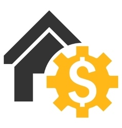 House Rent Options Flat Icon vector