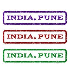India pune watermark stamp vector