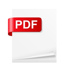 PDF File vector