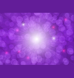 Purple bokeh abstract background vector