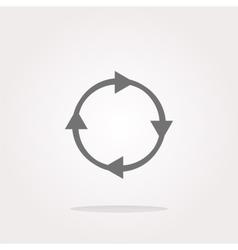 Rotation arrows Icon Rotation arrows Icon vector image