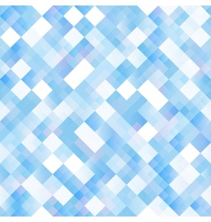 Seamless background with shiny blue squares vector