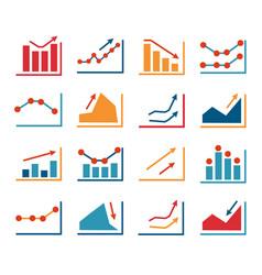 set business finance vector image