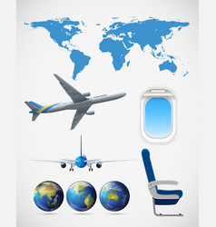 Set of travel element vector