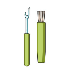 Tools for sewingsewing or tailoring tools kit vector