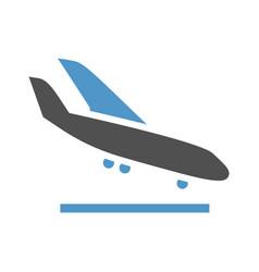 transport in sky vector image