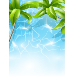tropical theme vector image