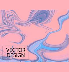 violet gradient moving decoration liquid blue vector image